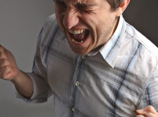 Что делать, когда кричит муж?